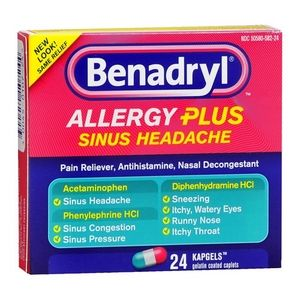 Benadryl Allergy & Sinus Medicine