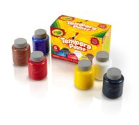 Crayola Tempera Paint set-6 count