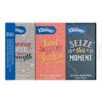 Kleenex® on-the-go pocket pack