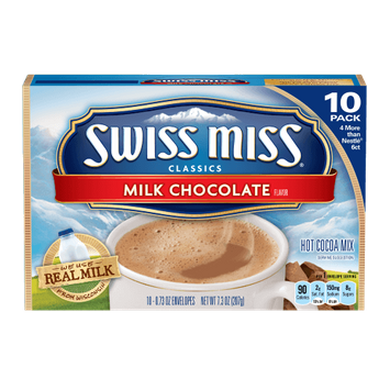Swiss Miss Milk Chocolate Hot Cocoa Mix