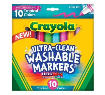 Crayola Ultra-Clean Markers, Broad Line