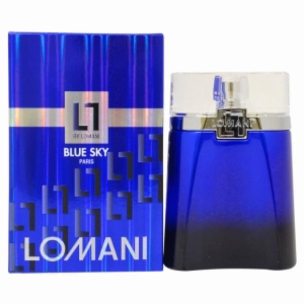 Lomani Blue Sky Eau de Toilette Spray, 3.3 fl oz