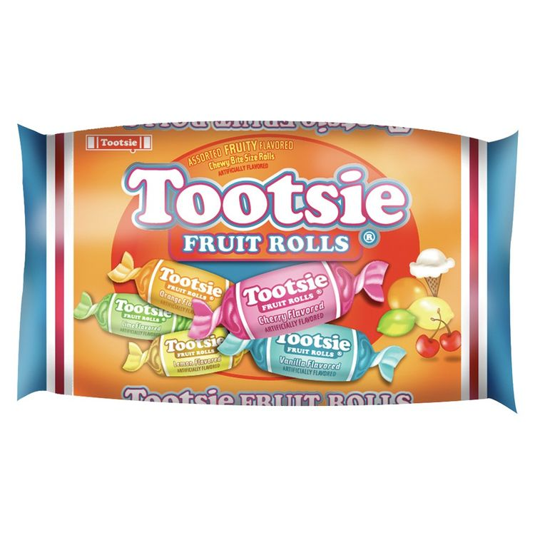 Tootsie Roll Fruit Rolls Candy 15 oz