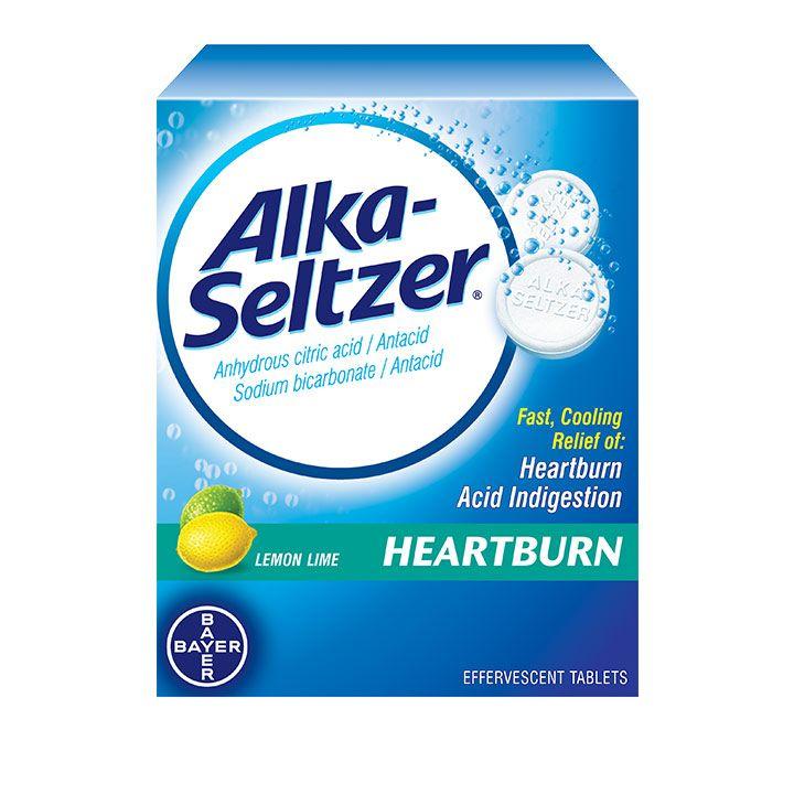 Alka-Seltzer® Heartburn Effervescent Tablets
