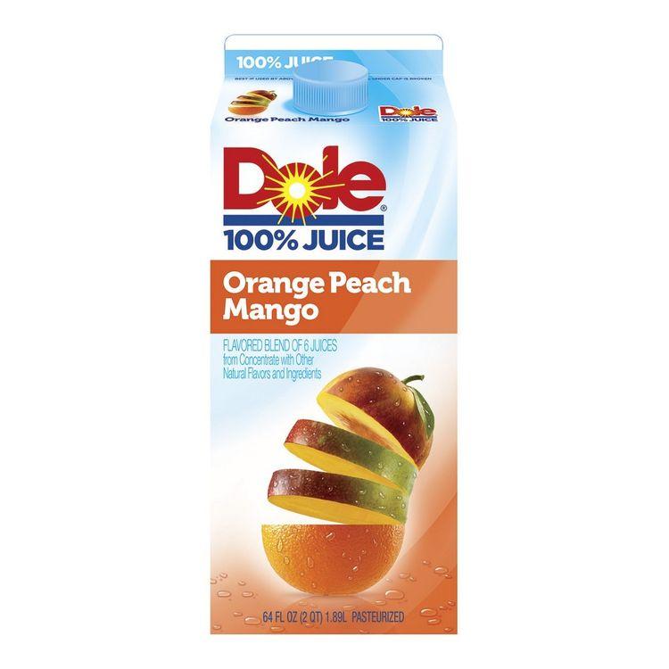 Tropicana® Products, Inc. Dole Orange Peach Mango Juice