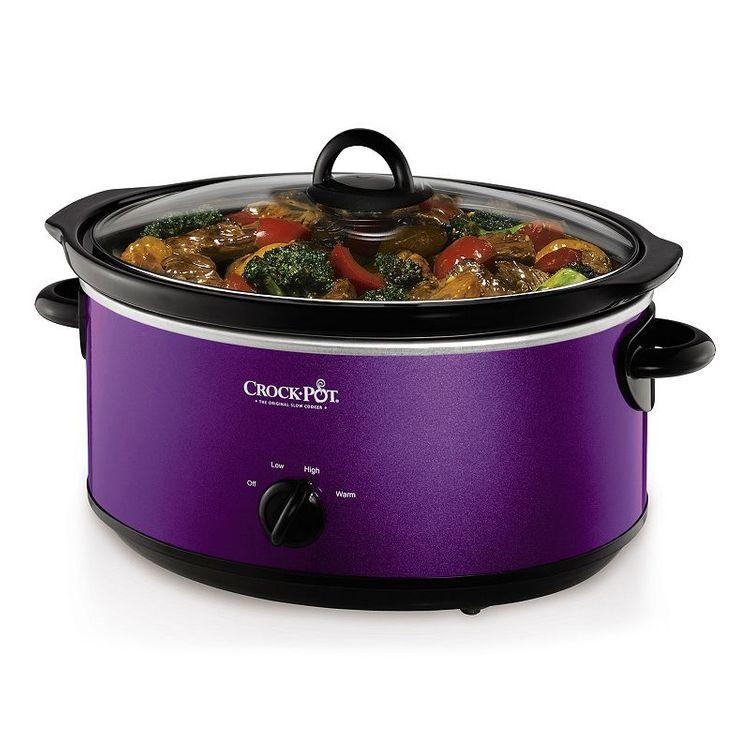 Crock-Pot 7-qt. Slow Cooker (Purple)