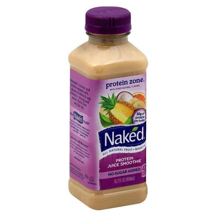 Naked Protein Zone Protein Juice Smoothie 15.2 oz Reviews 2019
