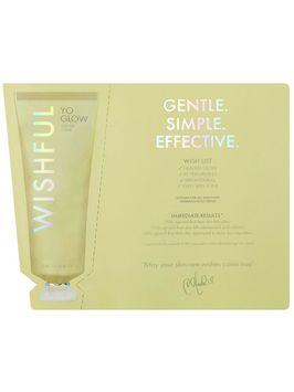 Wishful Yo Glow Enzyme Scrub Huda Beauty Skincare Sample 3ml