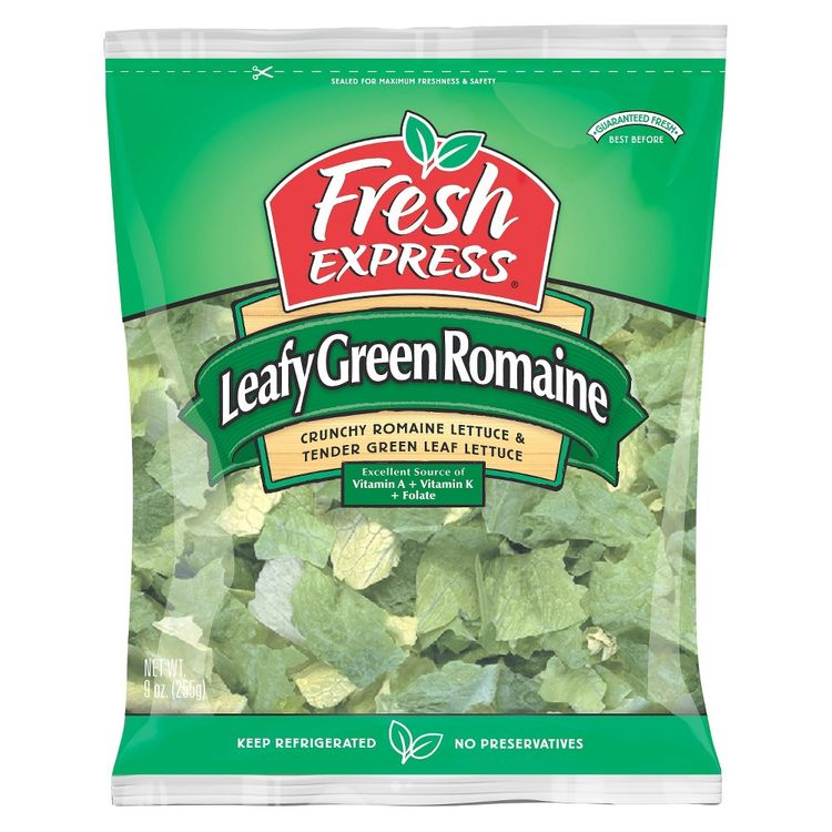 Fresh Express Leafy Green Romaine Lettuce 9 oz