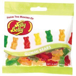 Jelly Belly 607598 3oz. Gummi Bears