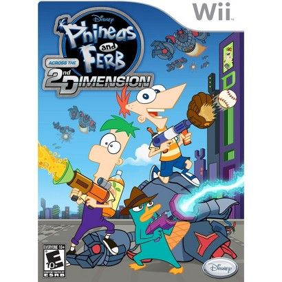 Disney Interactive Phineas and Ferb Across the 2nd Dimension - Action/Adventure Game Retail - Wii