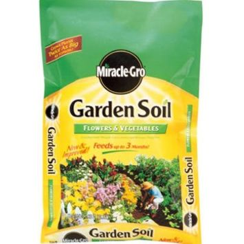 Scotts Miracle-Gro Garden Soil For Flowers and Vegetables, 1-Cubic Foot (Discontinued by Manufacturer)
