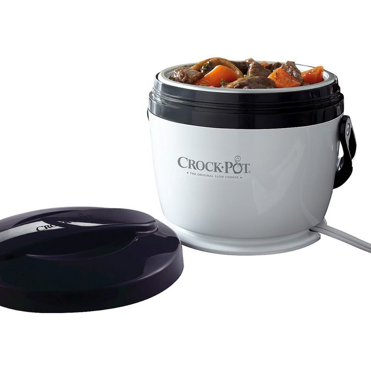 Crock-Pot Black Lunch Crock