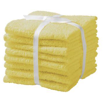 Feroze1888 Mills Ltd. Room Essentials 8-pk. Washcloth Set - Pongee Tint