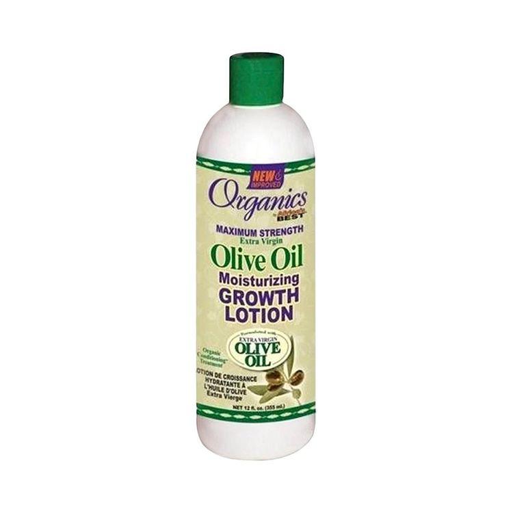 Ultra Standard Distributors Organics Maximum Strength Extra Virgin Olive Oil Moisturizing Growth Lotion - 1.2 oz