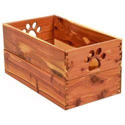 Dynamic Accents Ltd Dynamic Accents Pet Toy Box in Cedar