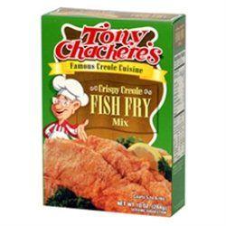 Tony Chachere's Tony Chacheres Crispy Creole Fish Fry Mix (12x10 OZ)