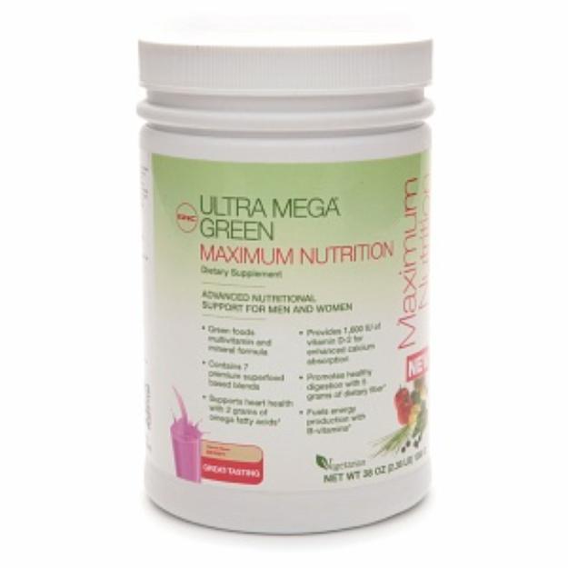 GNC Ultra Green Mega Green Maximum Nutrition