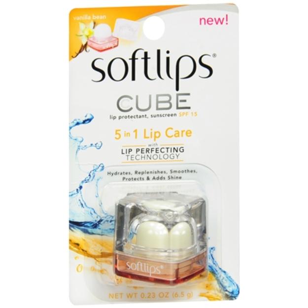 Slide: Softlips Cube Lip Protectant, SPF 15 Vanilla