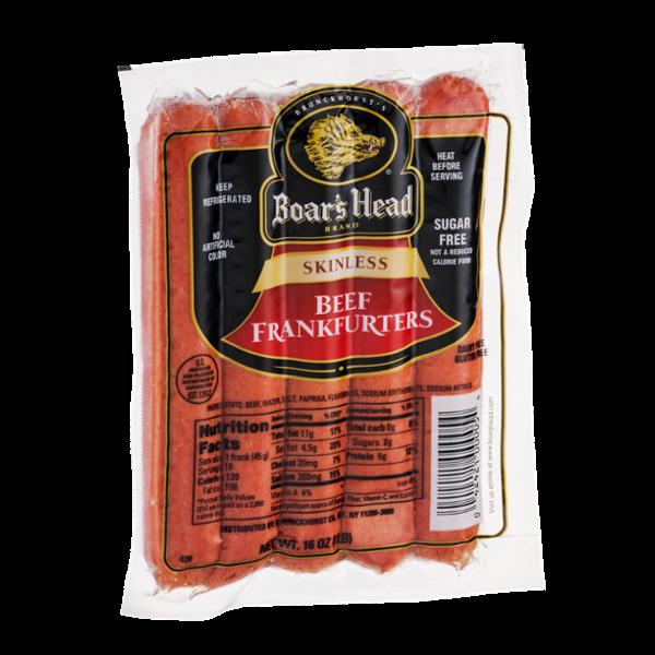 Boar's Head Skinless Frankfurters Beef
