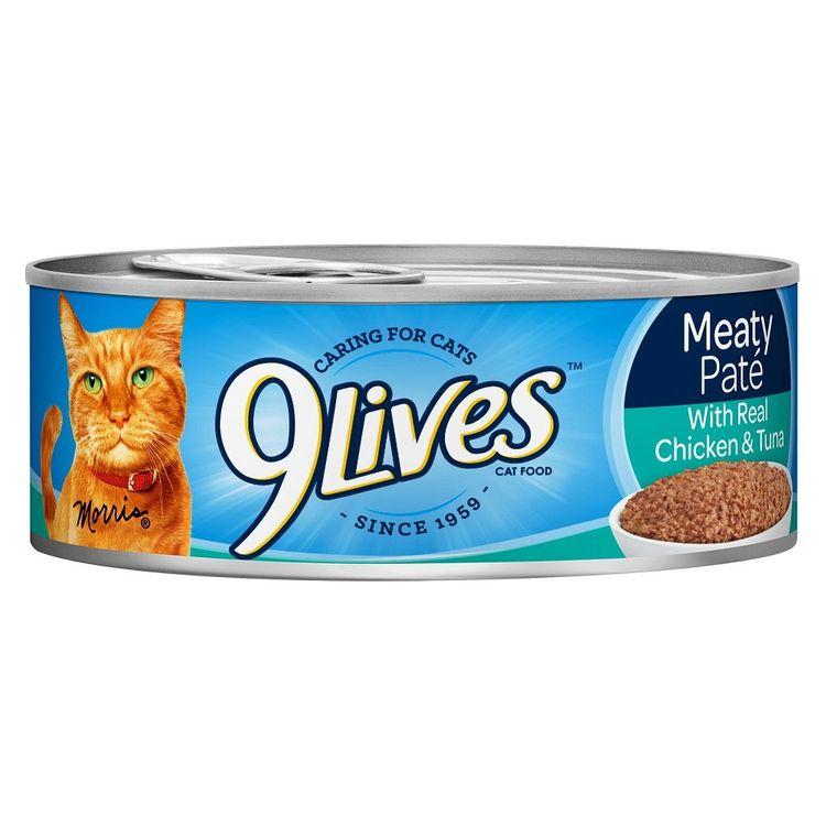 9 Lives 9Lives Cat Food Chicken & Tuna Dinner 22 oz