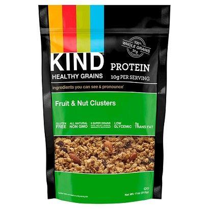 KIND® Snacks Kind Healthy Grains Protein Fruit & Nut Clusters
