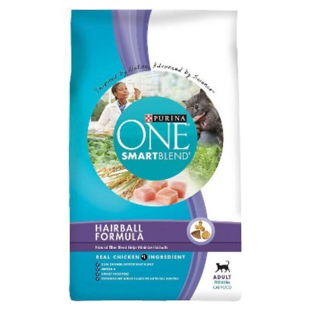 PURINA ONE® Smartblend Hairball Formula Dry Cat