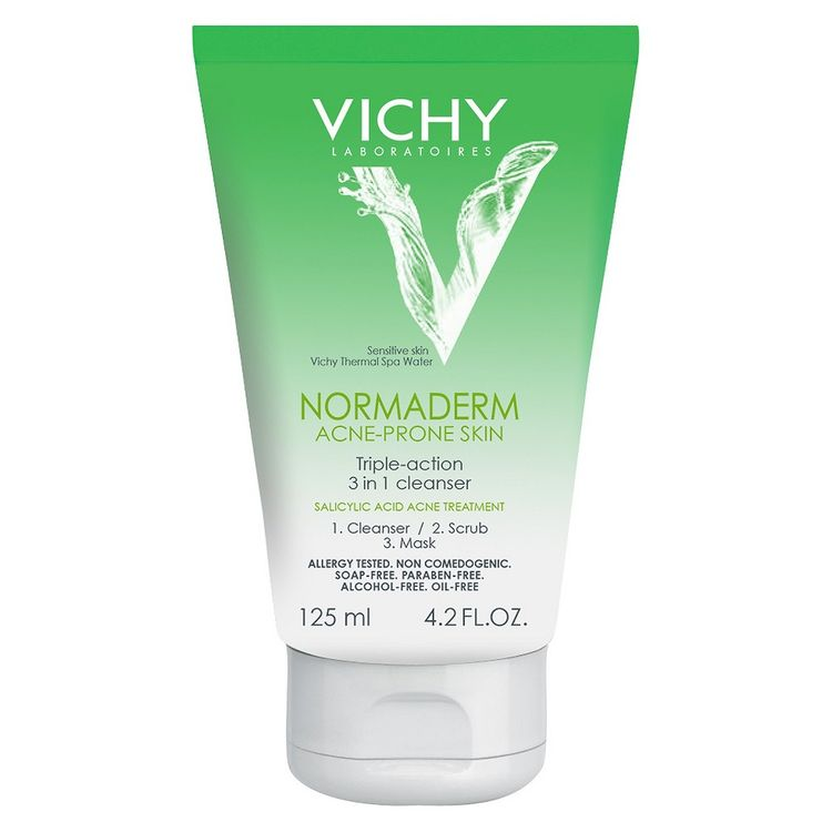 Vichy Normaderm 3-in-1 Cleansing Mask