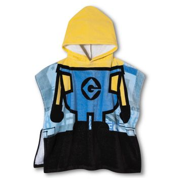 Despicable Me Minions Hooded Towel - Multicolored