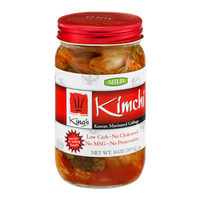 King's Kimchi Korean Marinated Cabbage Mild