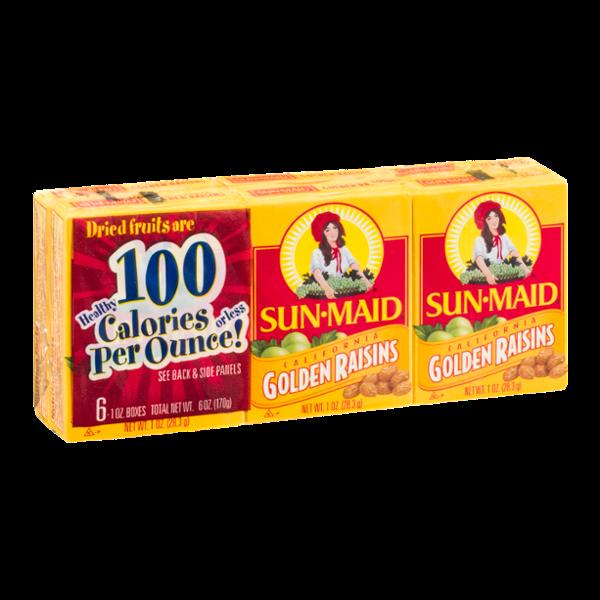 Sun-Maid California Golden Raisins - 6 CT