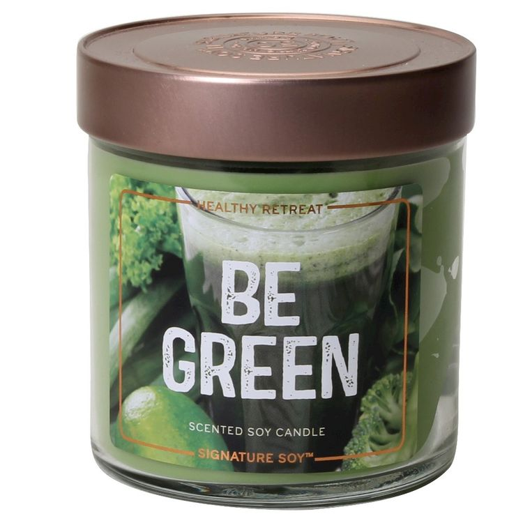 Shades of Glass Fresh Container Candle PNK