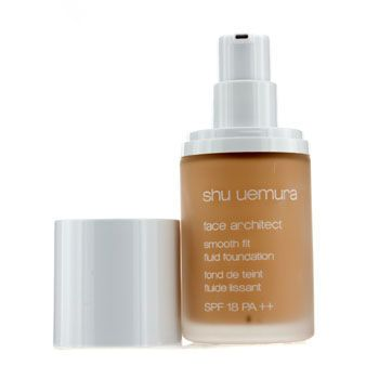 Shu Uemura Face Architect Smooth Fit Fluid Foundation - # 364 Medium Light Amber - 30ml/1oz