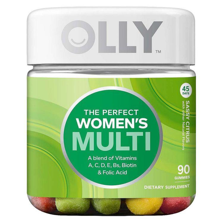 Olly The Perfect Women's Multi-Vitamin Sassy Citrus Gummies - 90 Count