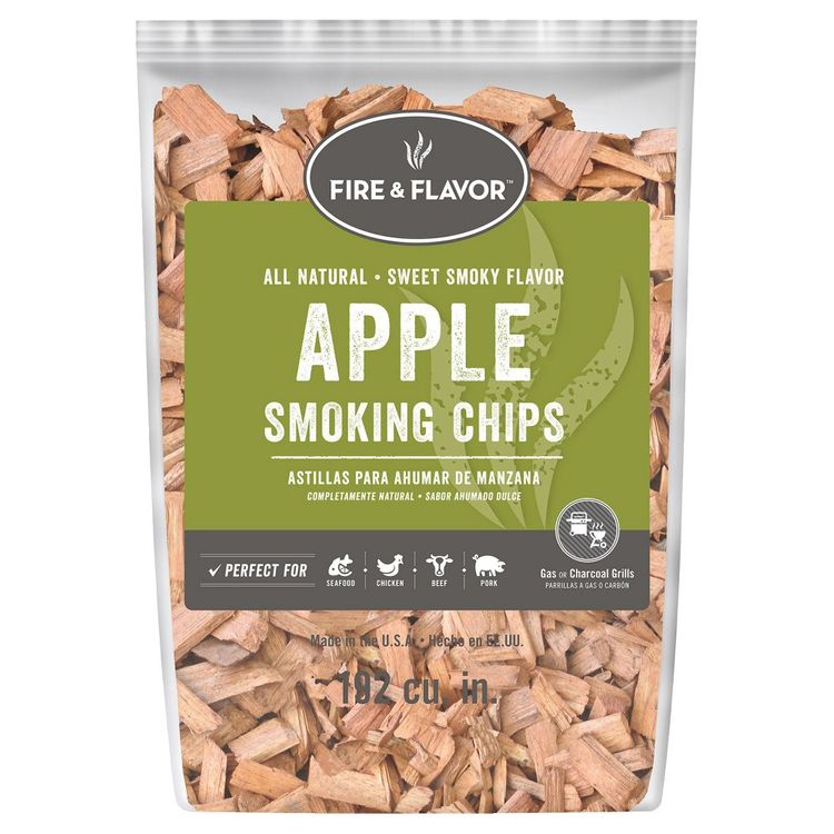 Charcoal and Wood: Fire & Flavor Apple Wood Chips