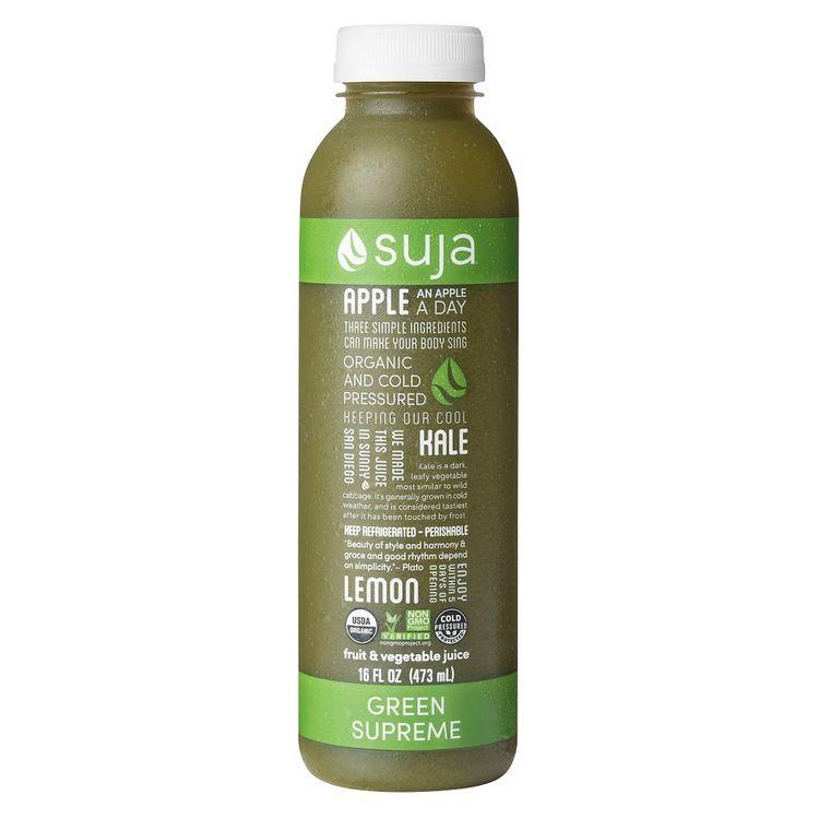 Suja Classic Organic Green Supreme Juice