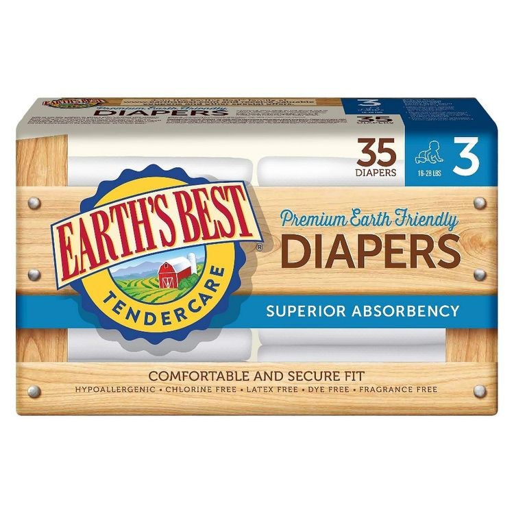 Earth's Best® TenderCare Diapers Size 3