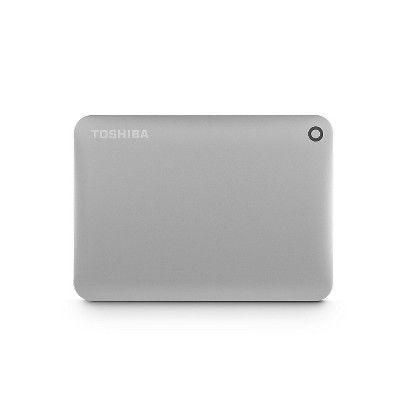 Toshiba Canvio Connect Ii 2TB External Hard Drive - USB 3.0 - 5400 Rpm - 8MB Buffer - Portable - Satin Gold (hdtc820xc3c1)