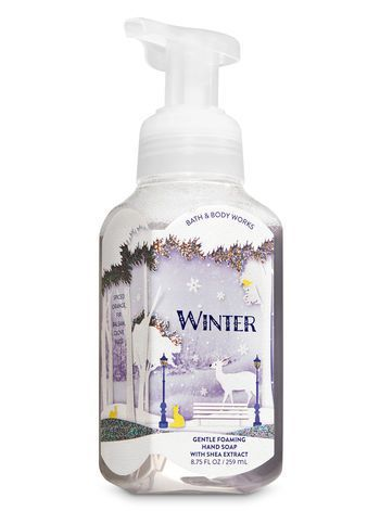 Bath And Body Works Winter Gentle Foaming Hand Soap