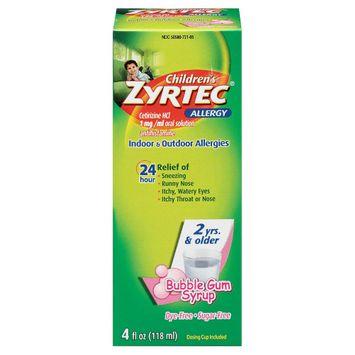 Zyrtec® Children's Allergy Syrup