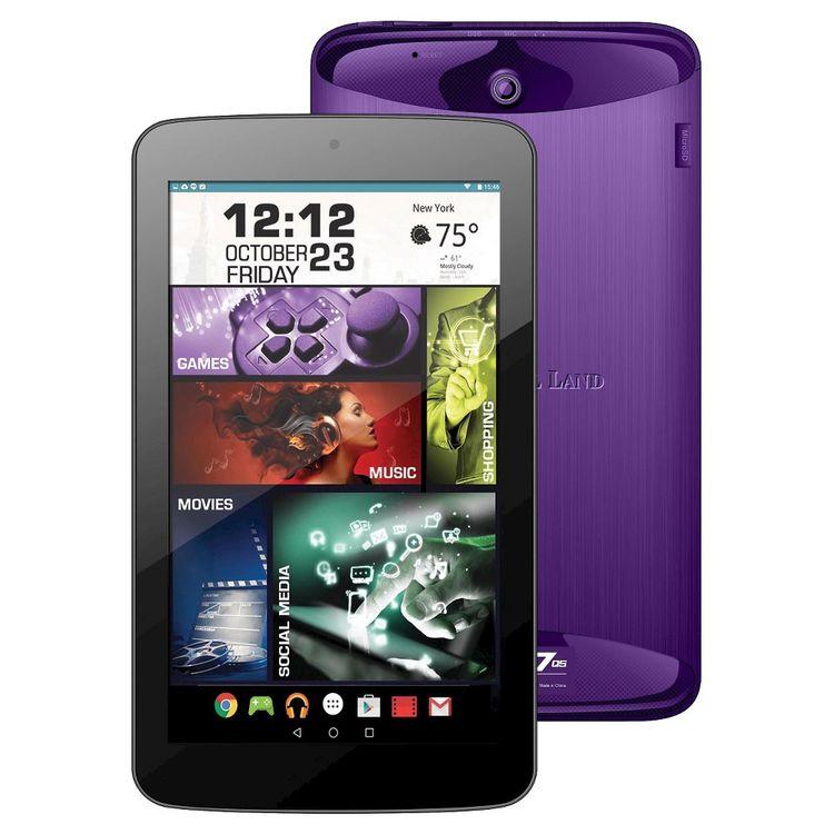 "Visual Land - Prestige Elite - 7"" - 16GB - Purple"