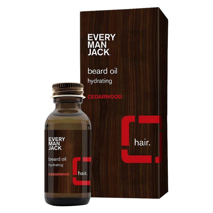 Every Man Jack Cedarwood Beard Oil - 1 oz
