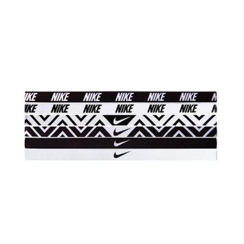 Nike - Nike Printed Headbands Assorted 6 Packs (Black/White) - Accessories