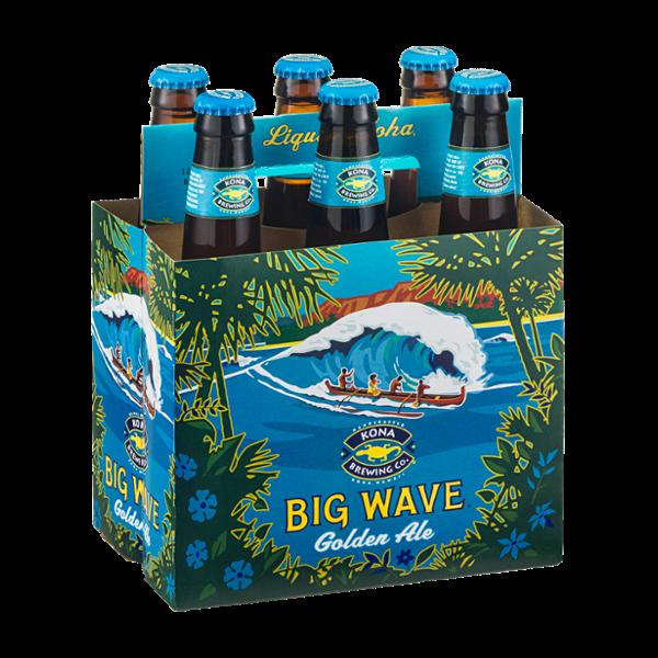 Kona Brewing Co. Big Wave Golden Ale - 6 CT