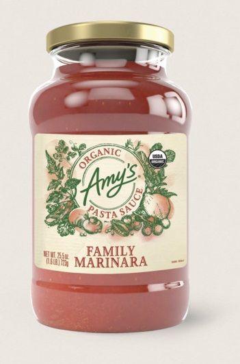 Amy's Premium Organic Pasta Sauce Family Marinara
