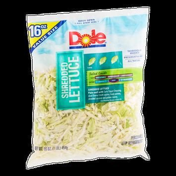 Dole Family-Sized Shredded Lettuce