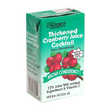 Resource Thickened Cranberry Juice Cocktail