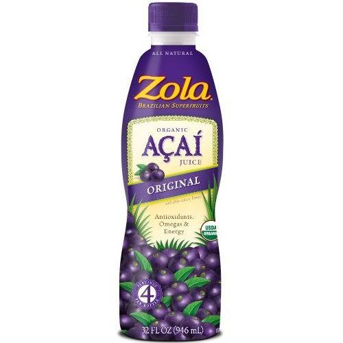 Zola Brazilian Superfoods Zola, Original Acai Power Juice, 32oz