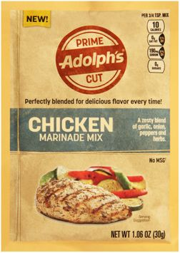 adolph's® prime cut chicken marinade mix