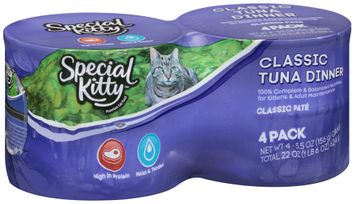 Special Kitty™ Classic Tuna Dinner Wet Cat Food